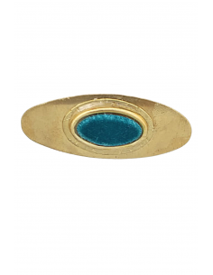 Broche Oval Liso