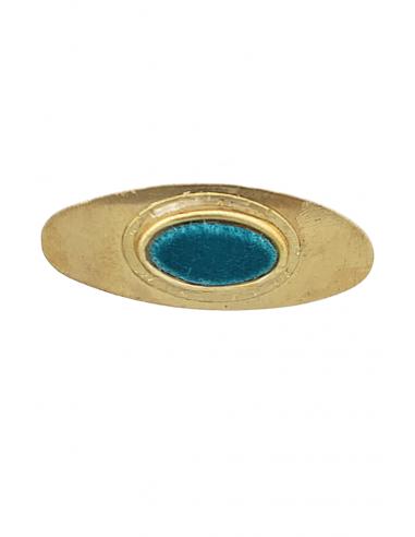 Broche Oval Liso