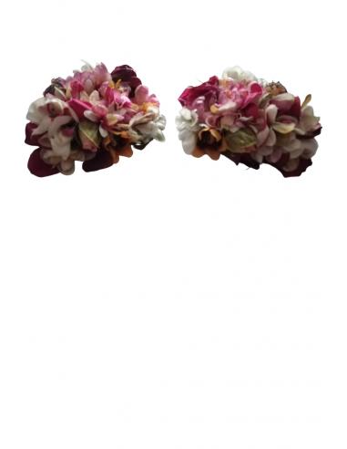 Hombreras de flor