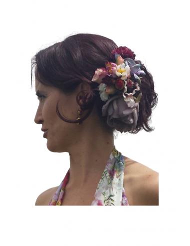 Conjunto flores para el pelo